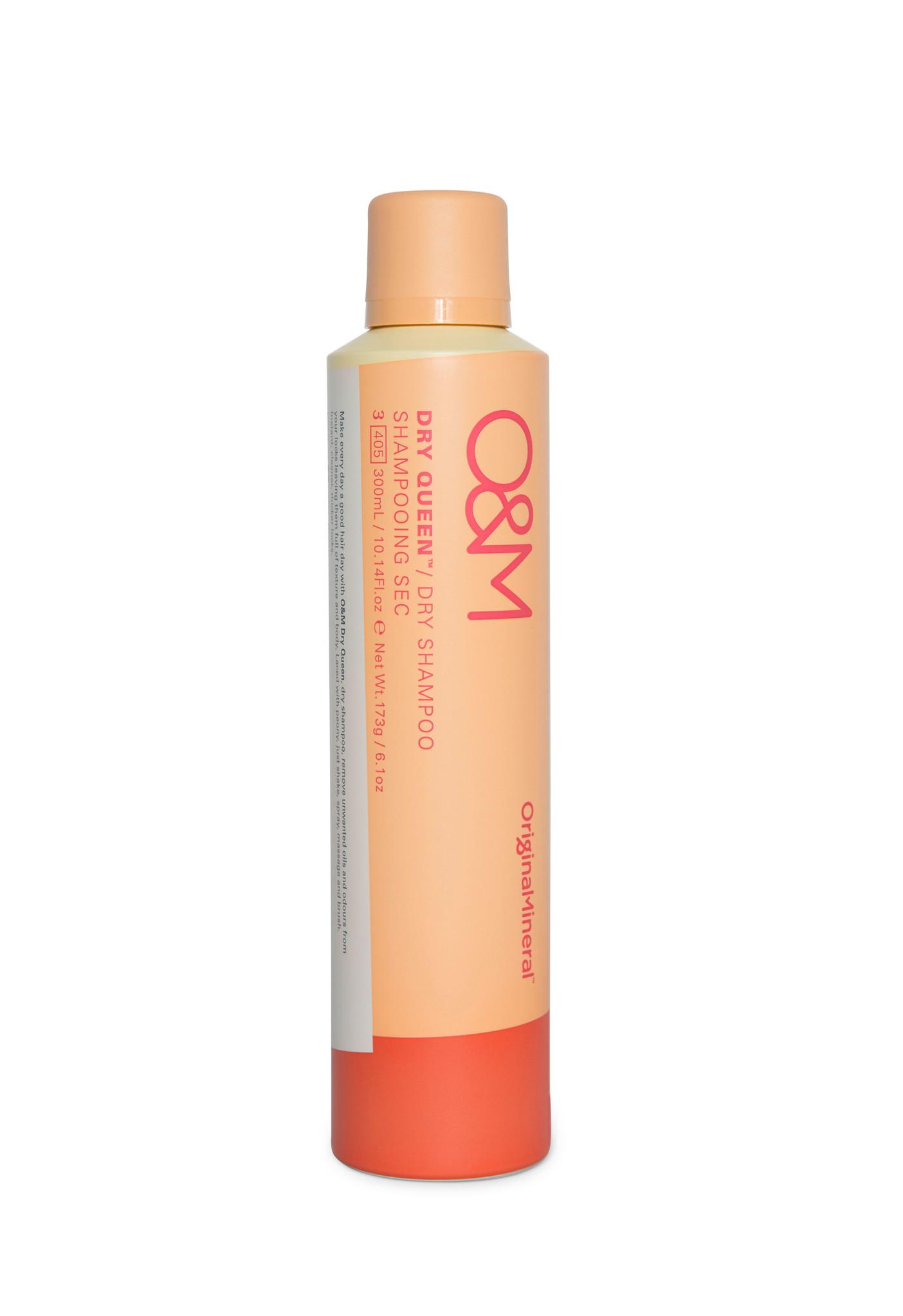 O&M - Original Mineral O&M Original Queen Dry Shampoo - Shampooing Sec  - 300ml