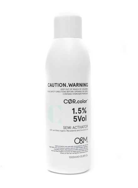 O&M - Original Mineral O&M Semi Activator 5Vol - 1,5% - 1000 ml