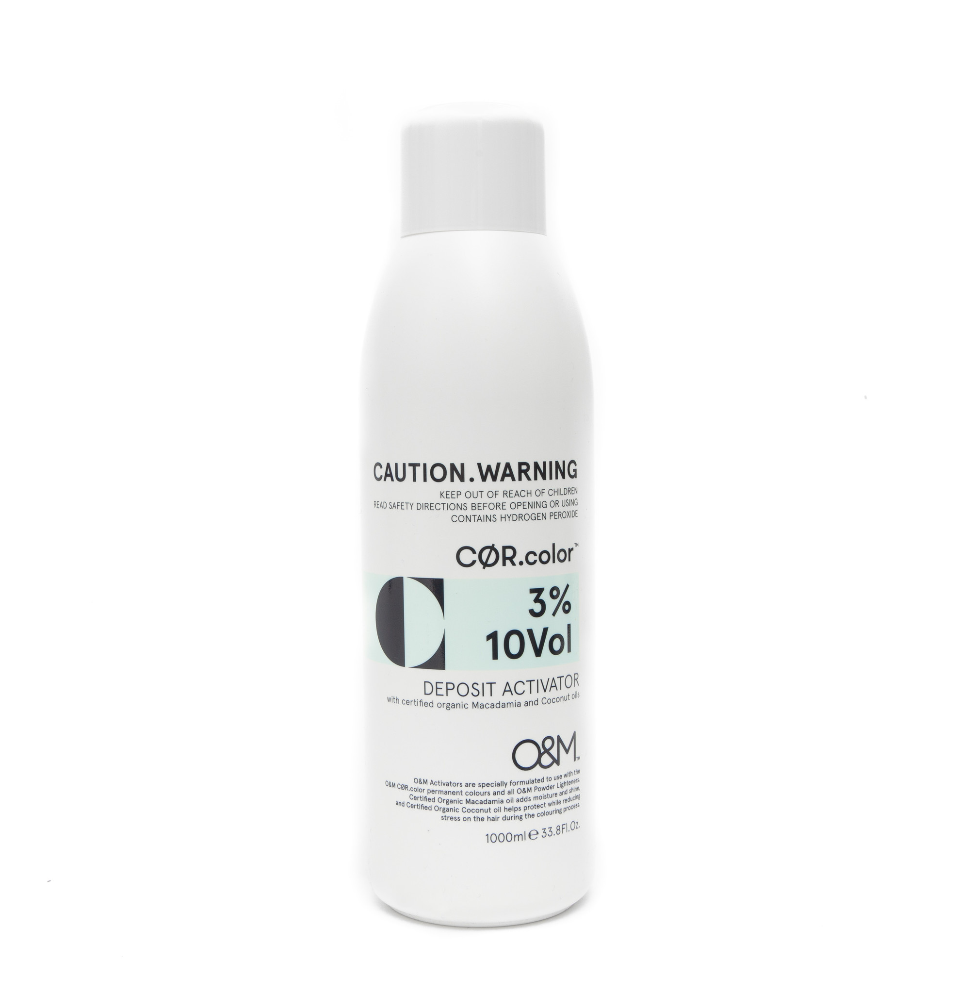 O&M - Original Mineral O&M CØR.COLOR Deposit Activator 10Vol - 3% - 1000 ml