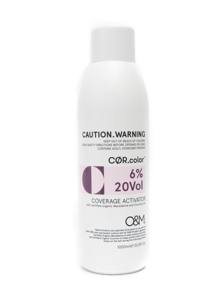 O&M - Original Mineral O&M Coverage Activator 20Vol - 6% - 1000 ml