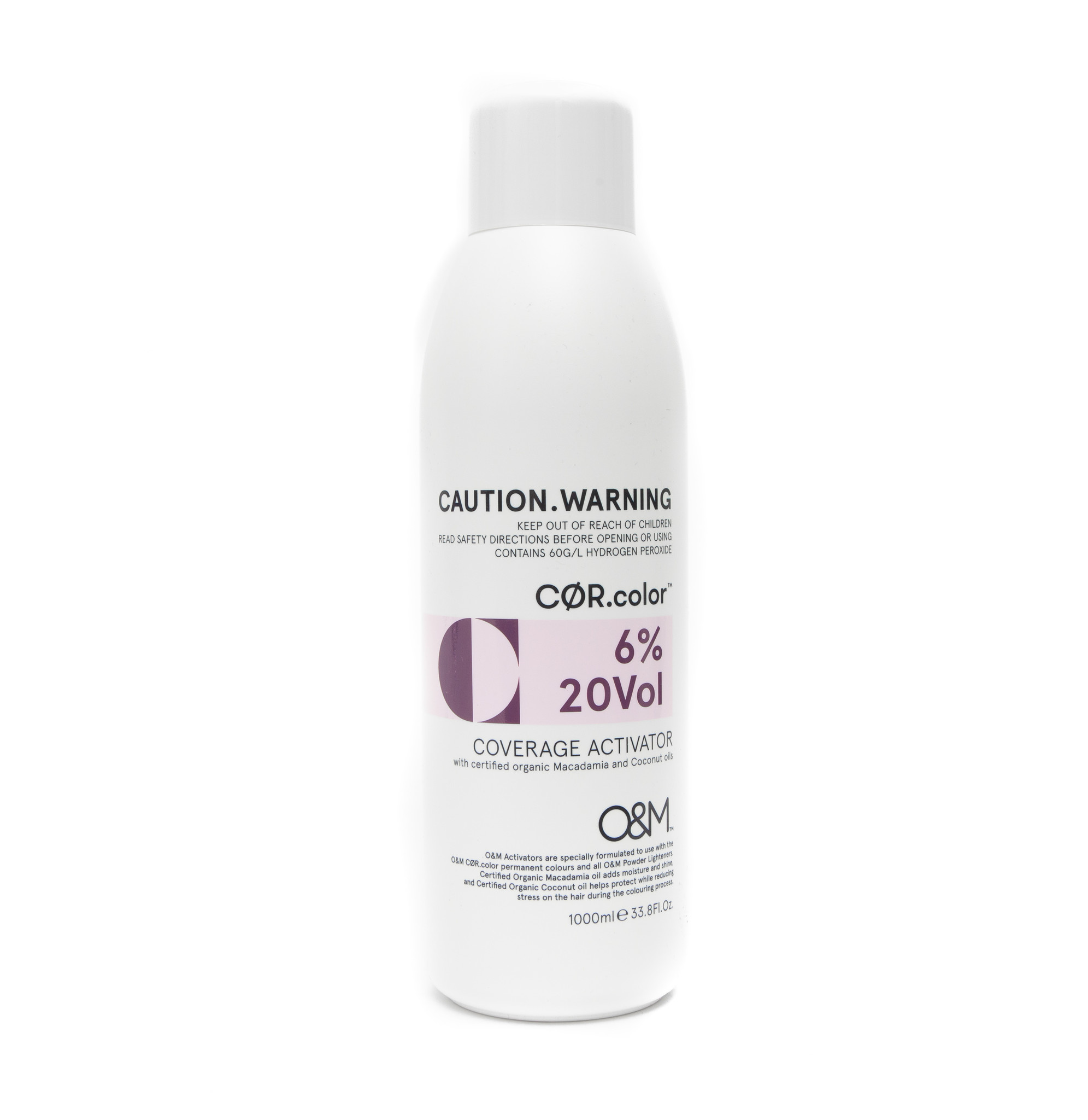 O&M - Original Mineral O&M CØR.COLOR Coverage Activator 20Vol - 6% - 1000 ml