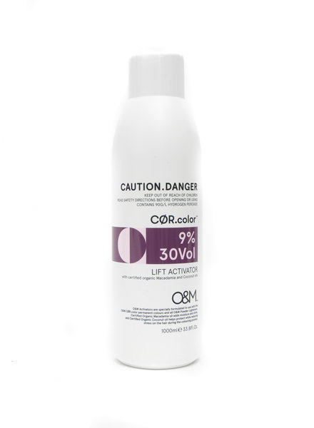O&M - Original Mineral O&M Lift Activator 30Vol - 9% - 1000 ml