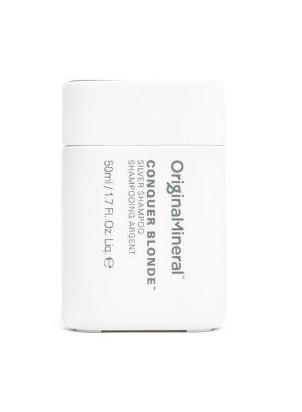 O&M - Original Mineral O&M Conquer Blonde Silver Shampoo - 50ml