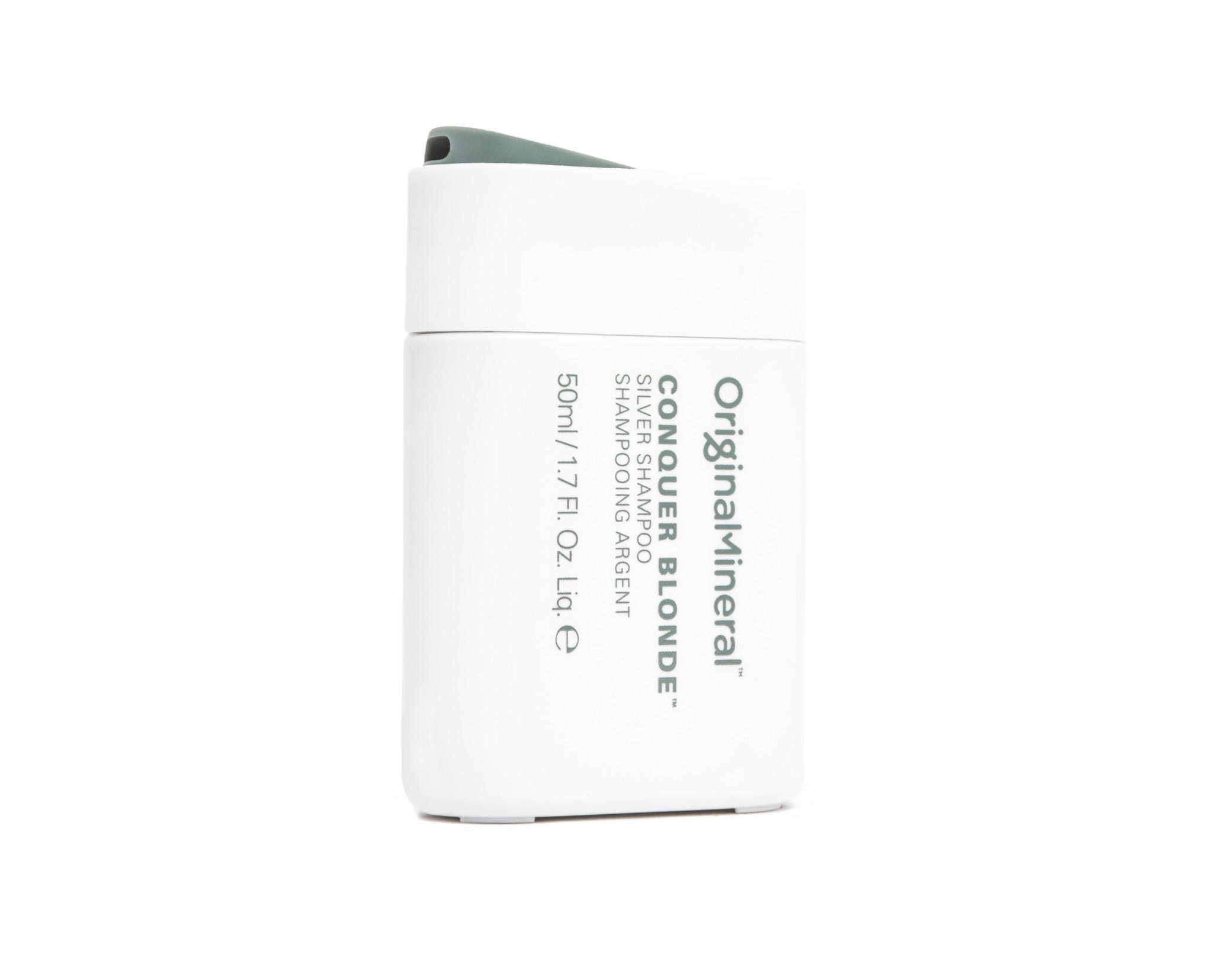O&M - Original Mineral O&M Conquer Blonde Silver Shampooing pour cheveux blonds argentés - 50ml