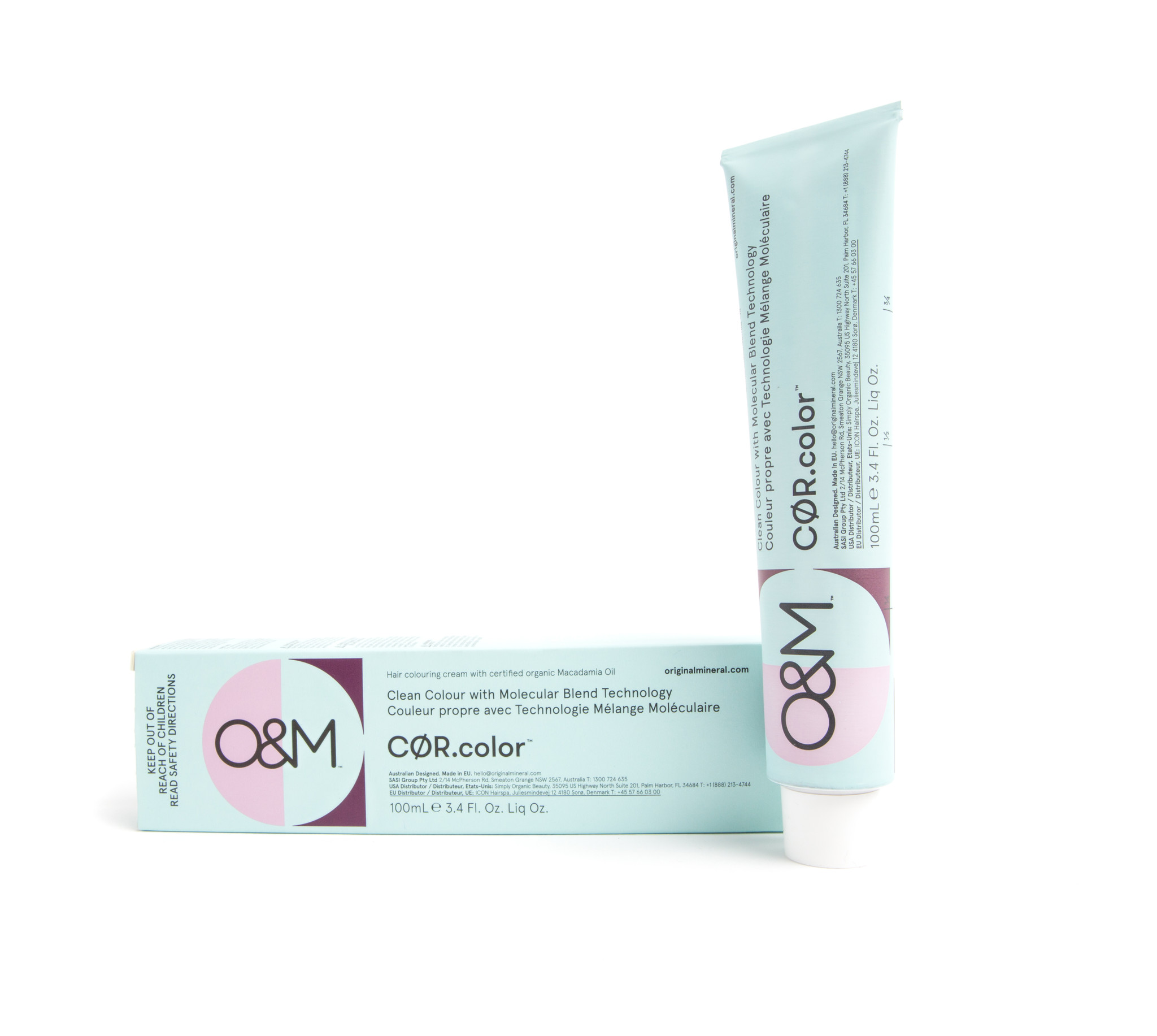 O&M - Original Mineral O&M CØR.color Cool.Naturals Ash Matte Brown 44.19 100g