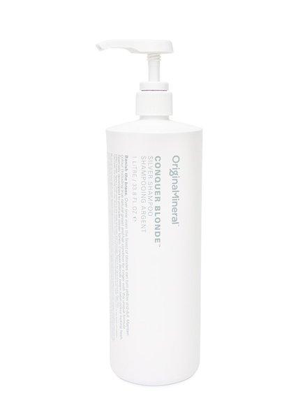 O&M - Original Mineral O&M Conquer Blonde Silver Shampoo - 1000ml