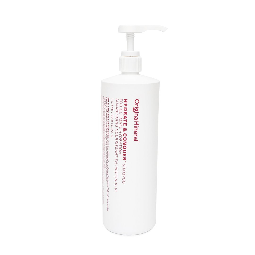 O&M - Original Mineral O&M Hydrate & Conquer Shampooing Nourissant en profondeur - 1000ml