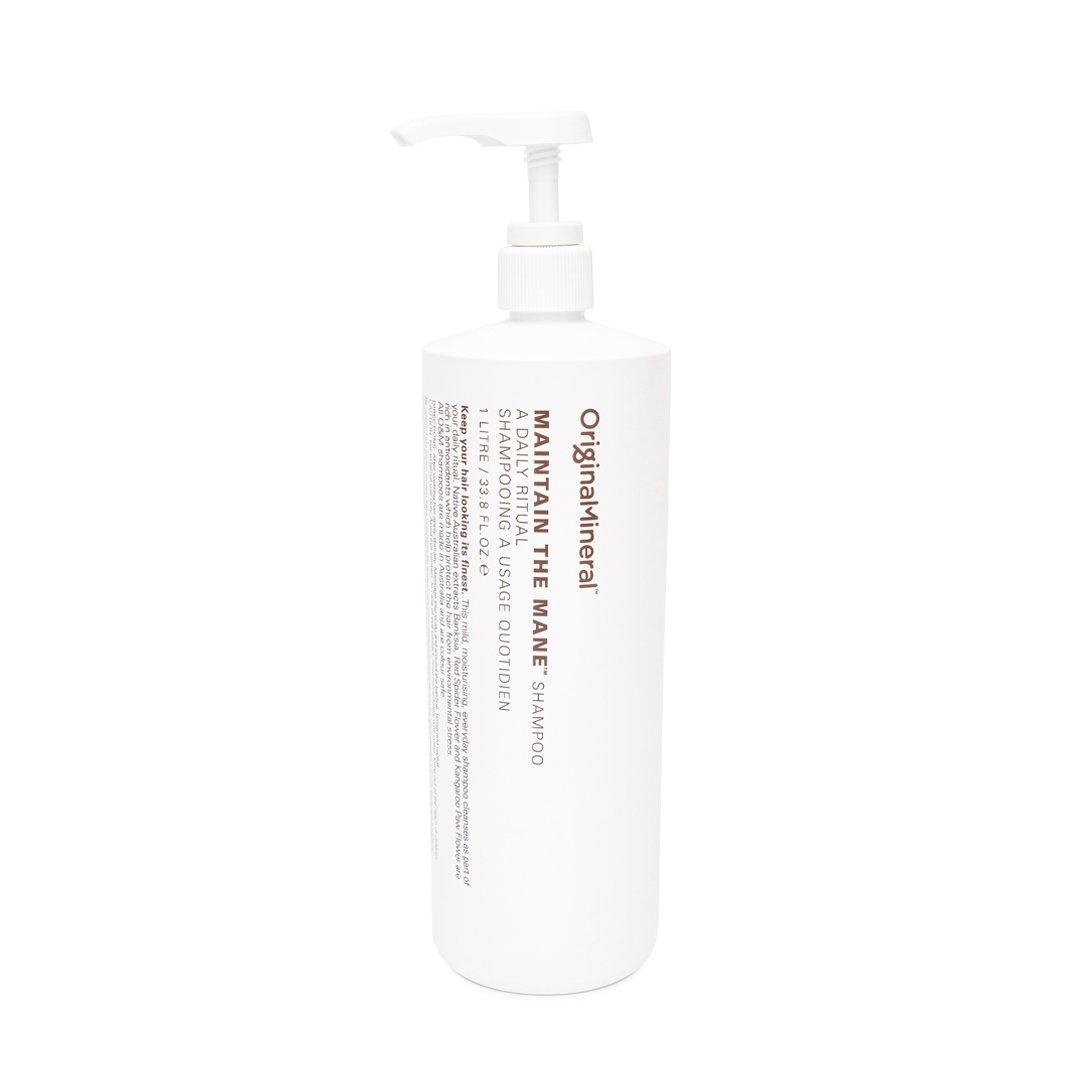 O&M - Original Mineral O&M Maintain The Mane Shampooing quotidien d'entretien - 1000ml