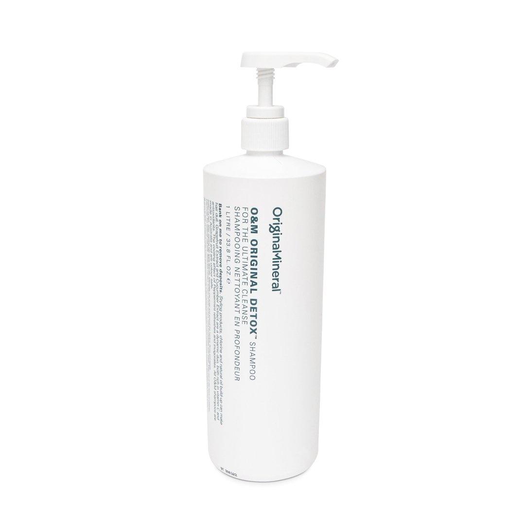 O&M - Original Mineral O&M Original Detox Shampooing nettoyant en profondeur 1000ml