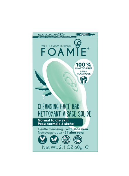 Foamie Nettoyant Visage Aloe You Vera Much