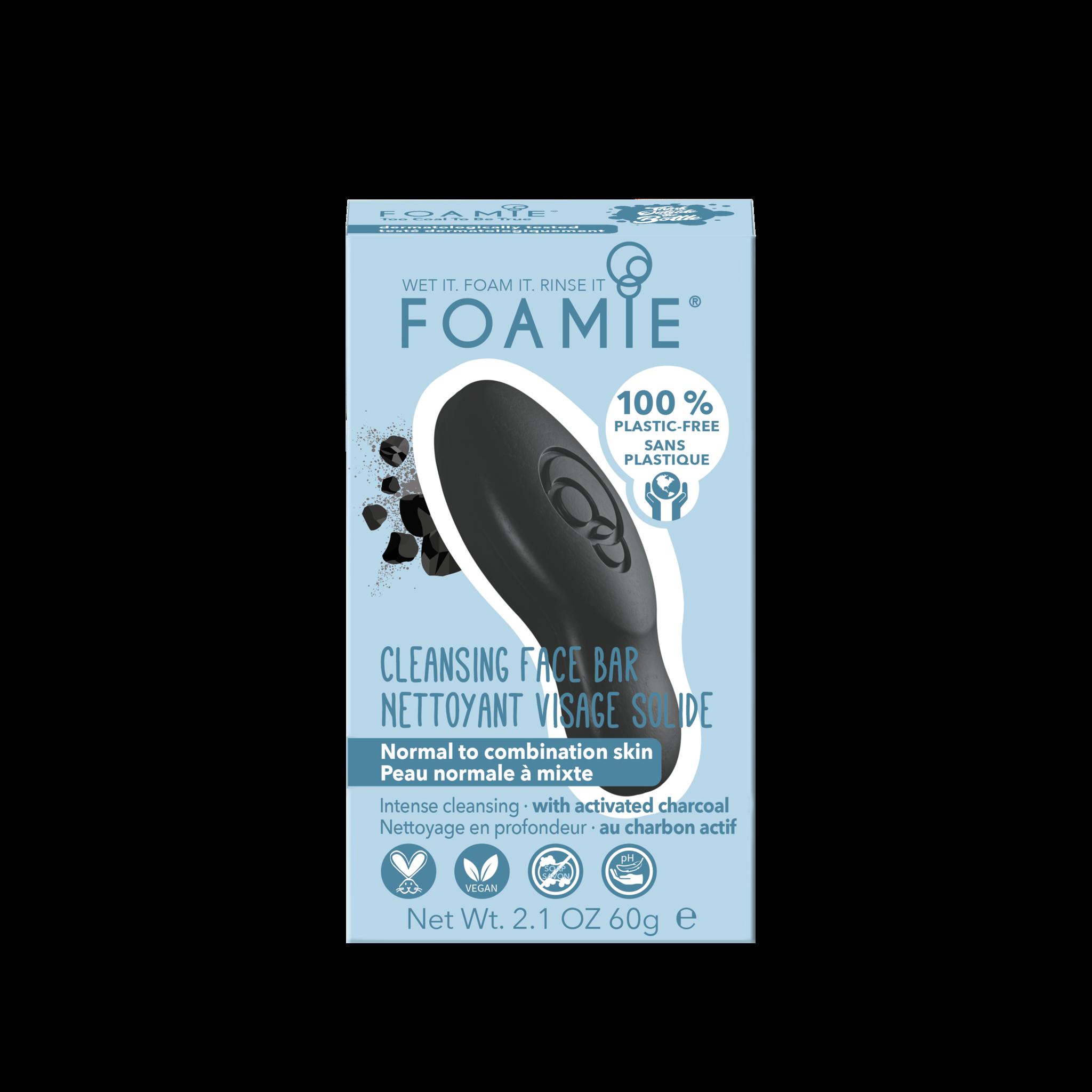 Foamie Nettoyant Visage Too Coal To Be True