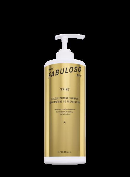EVO evo® Fabuloso Pro™ Prime Colour Priming Shampoo 1L