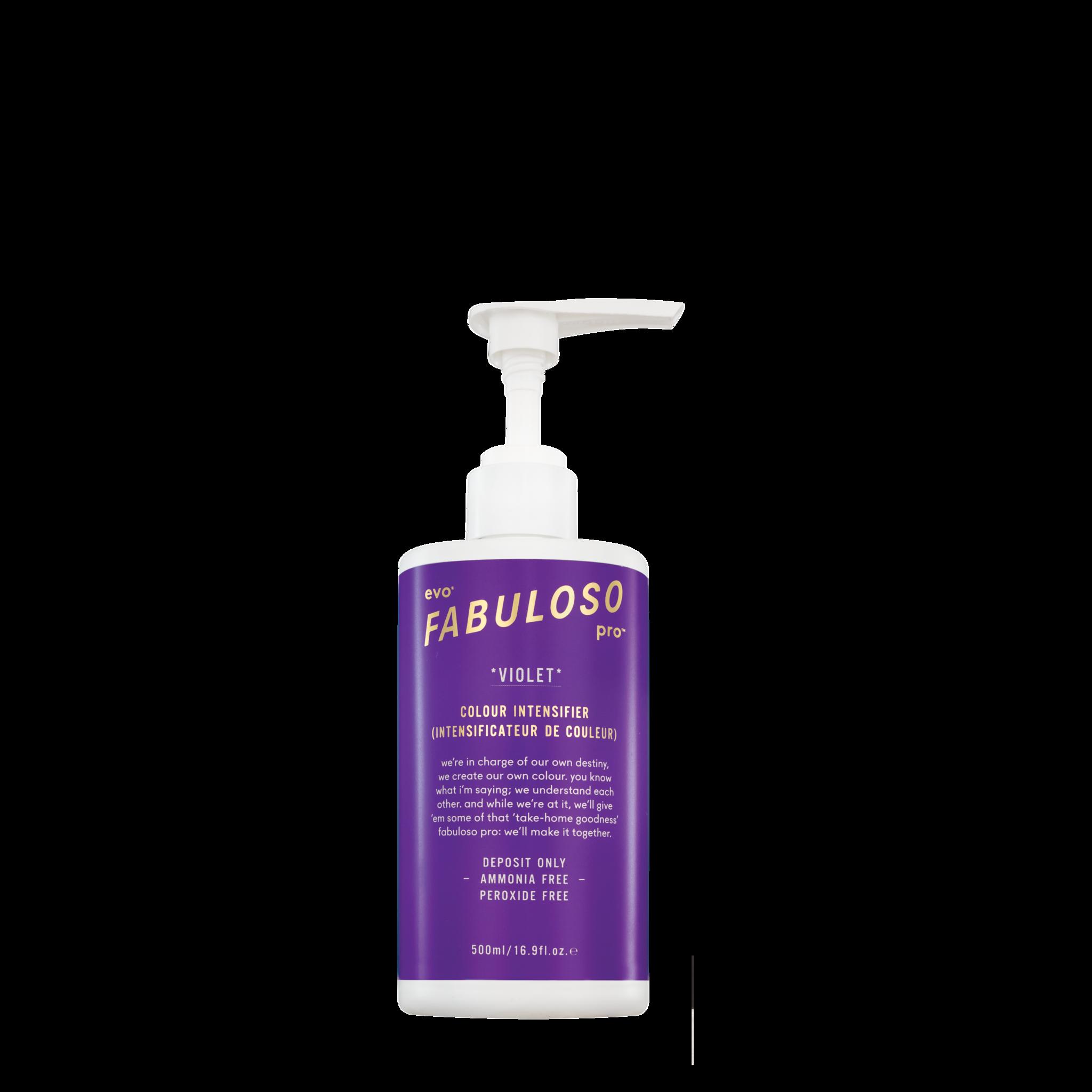 EVO evo® Fabuloso Pro™ Violet Colour Intensifier 500ml