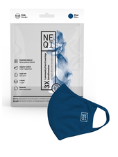 NEQI Masque facial NEQI - Bleu, Kids
