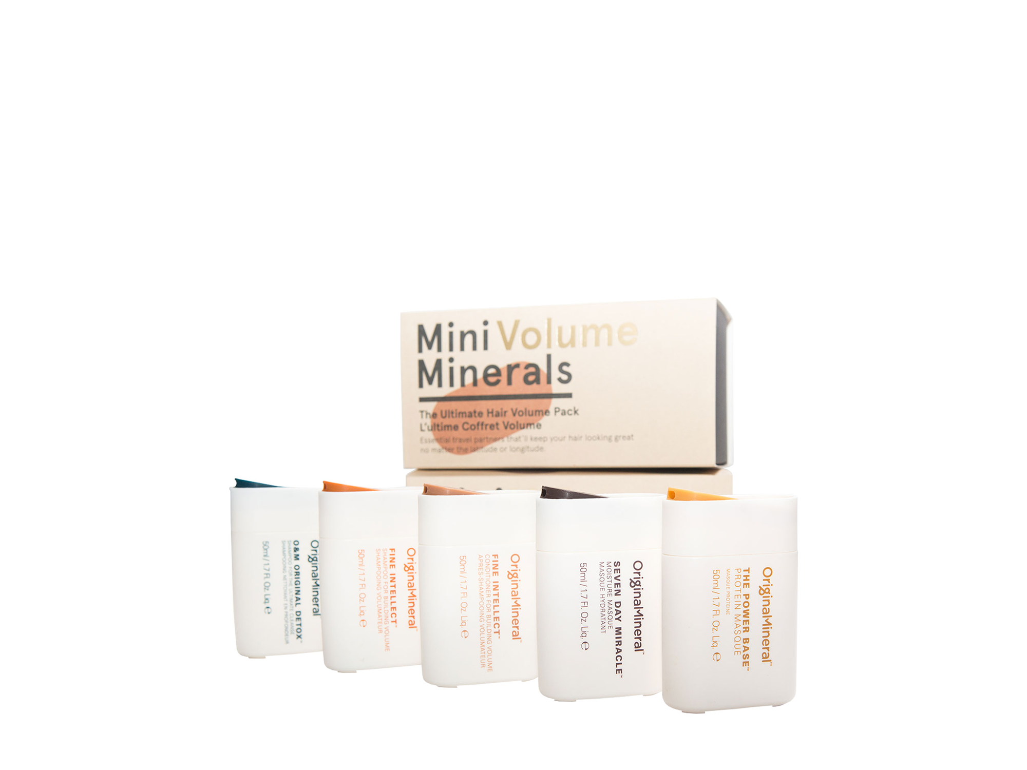 O&M - Original Mineral O&M Mini Volume Minerals Kit - 5x50ml