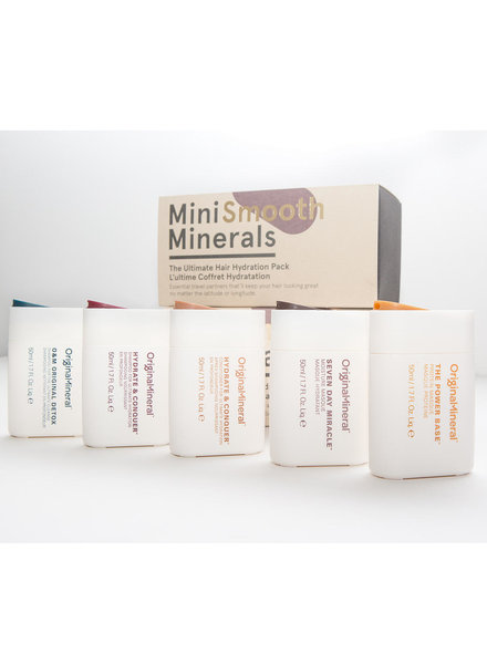 O&M - Original Mineral O&M Mini Smooth Minerals Kit - 5x50ml