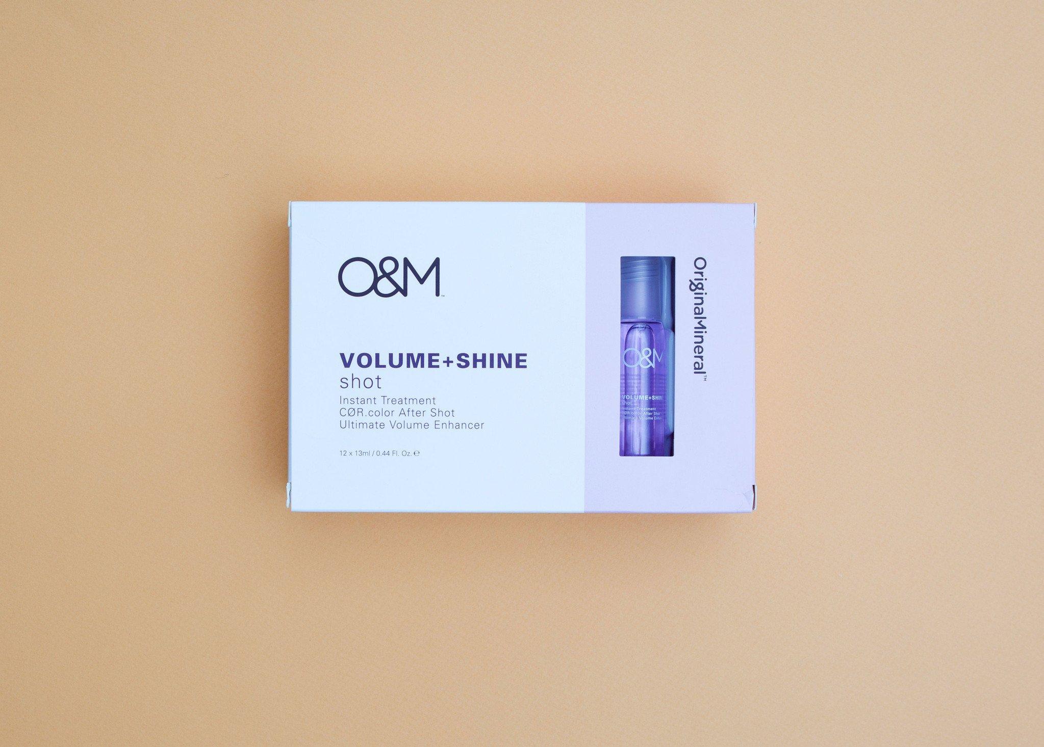 O&M - Original Mineral O&M Shine Shots - Volume + Shine - Instant Treatment 12x13ml