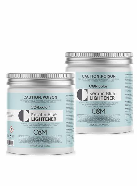O&M - Original Mineral O&M Keratin Blue Lightener - Poudre Éclaircissant Bleu 1000g