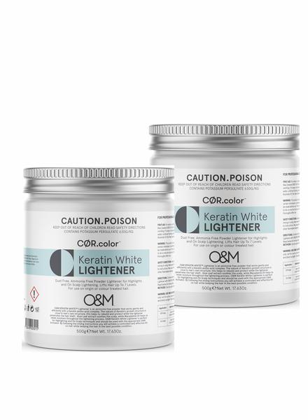O&M - Original Mineral O&M Keratin White Lightener - Poudre Éclaircissant Blanche 1000g