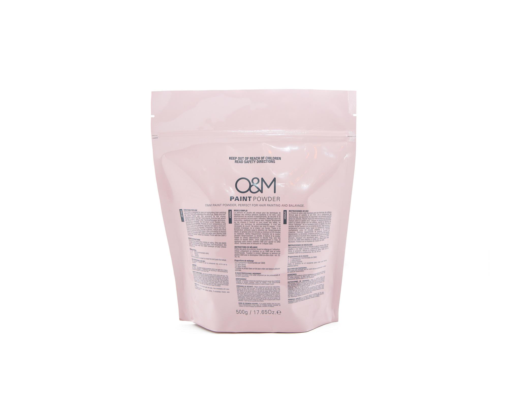 O&M - Original Mineral O&M Paint Powder - Poudre à l'Argile 500g