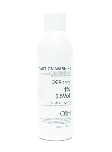 O&M - Original Mineral O&M Tone Activator - Activateur 3.5VOL 1% 1000ml