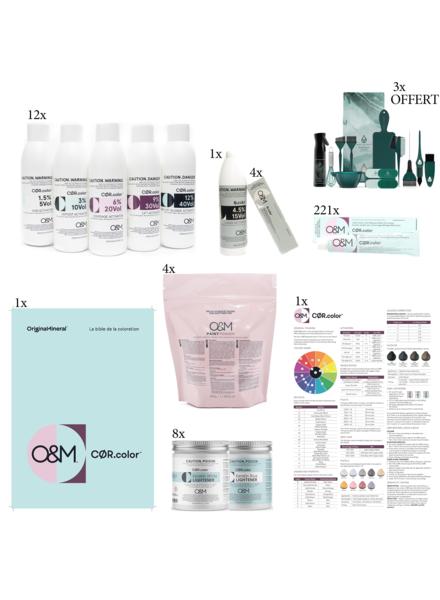 O&M - Original Mineral O&M - CØR.color Platinum Set