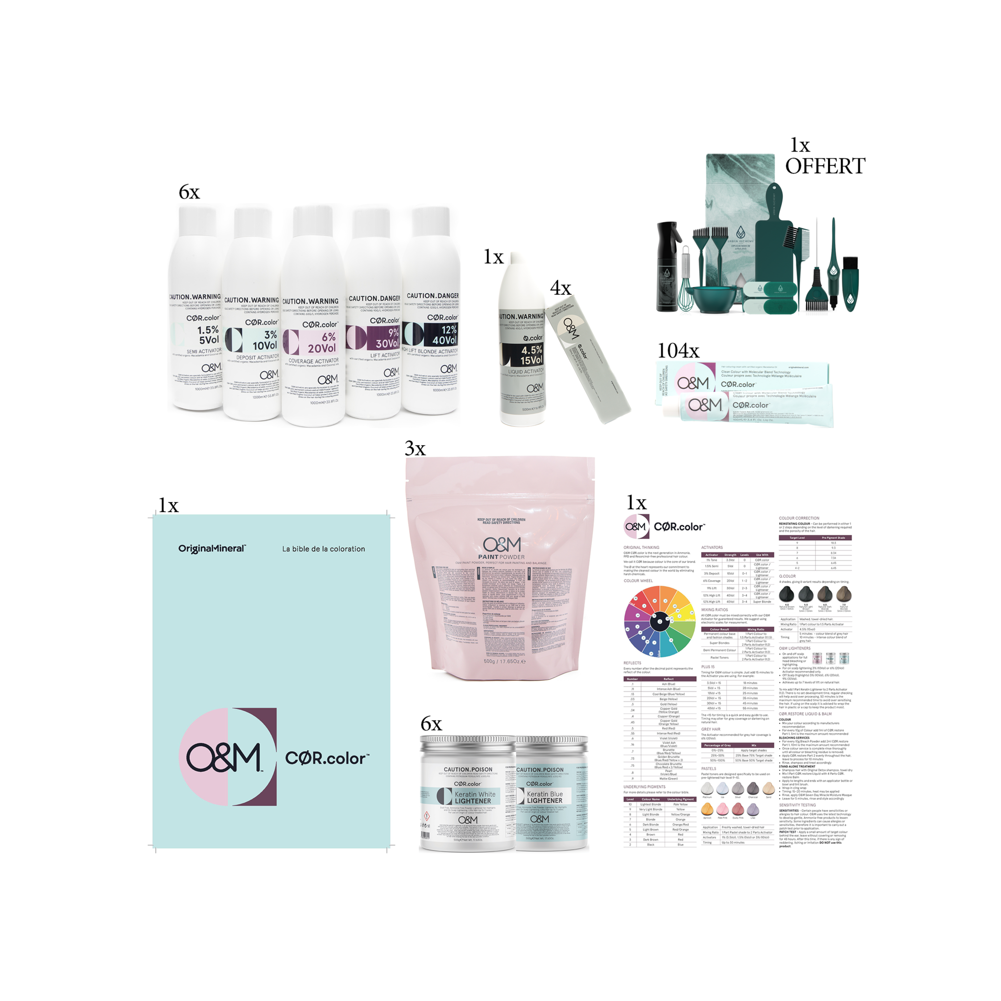 O&M - Original Mineral O&M - CØR.color Starter Set