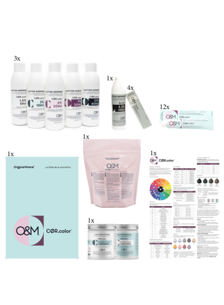 O&M - Original Mineral O&M - CØR.color Teaser Set