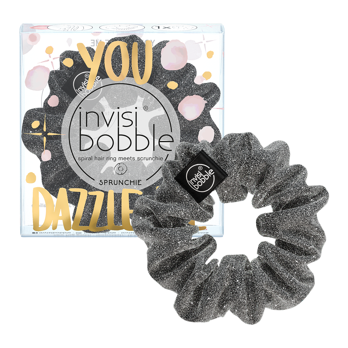 invisibobble® INVISIBOBBLE® SPRUNCHIE – SPARKS FLYING YOU DAZZLE ME x6