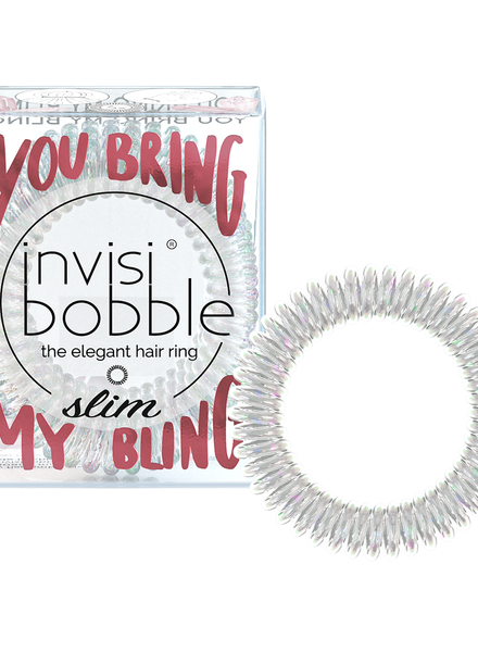 invisibobble® SLIM – SPARKS FLYING YOU BRING MY BLING x6