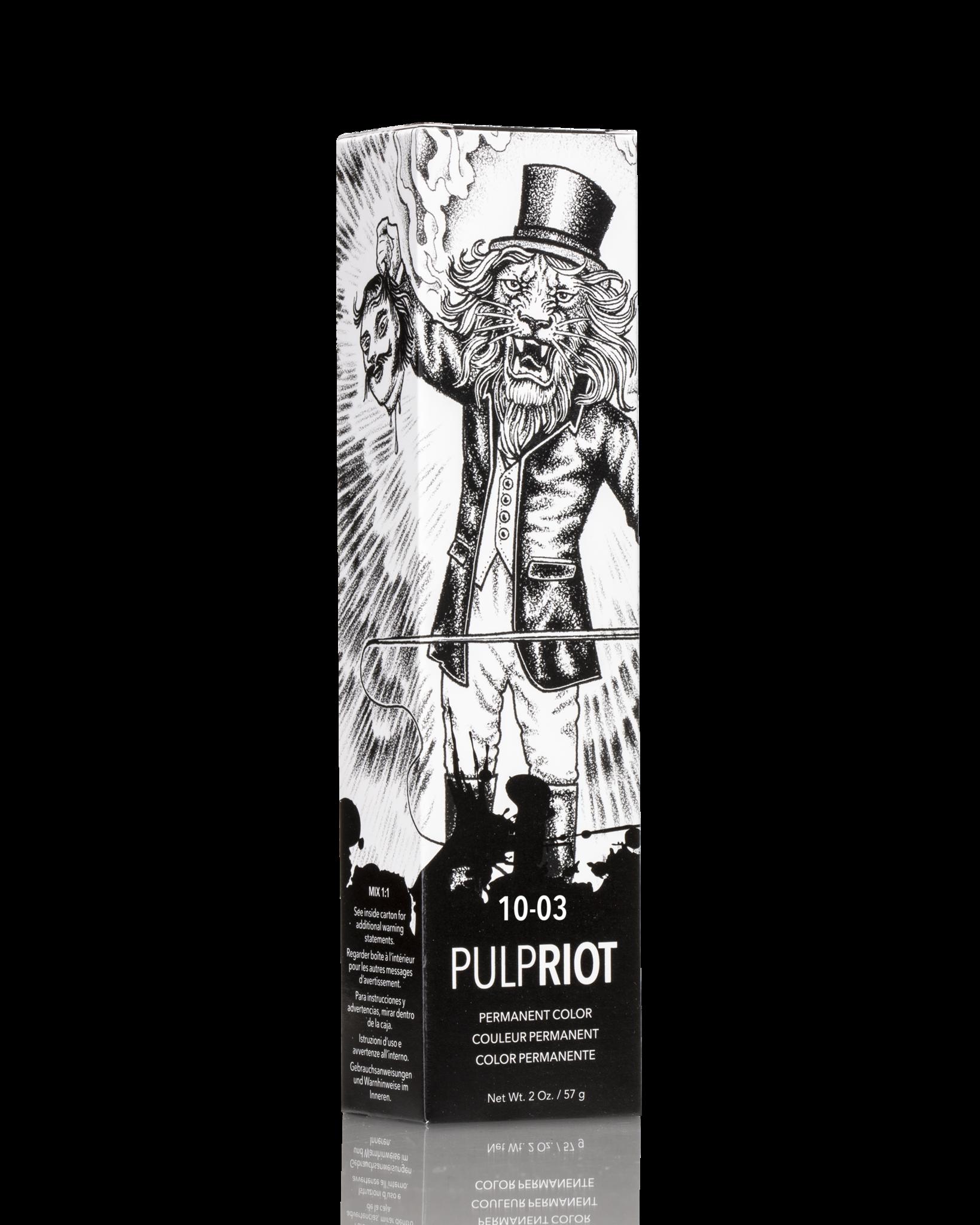 Pulp Riot PULP RIOT FACTION 8 NATUREL DORÉ/NATUREL GOLD 10-03