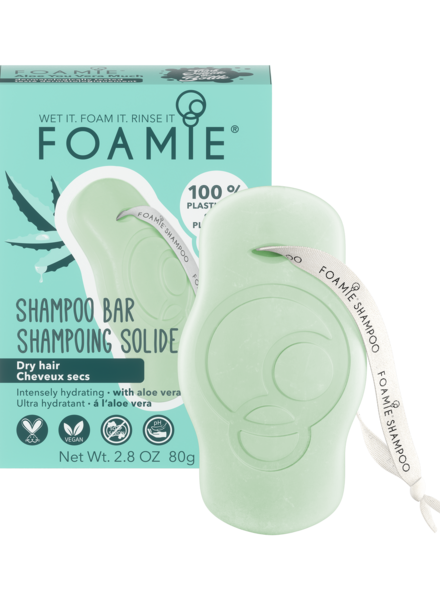 Foamie Shampooing en Barre Aloe You Vera Much (Cheveux Secs)