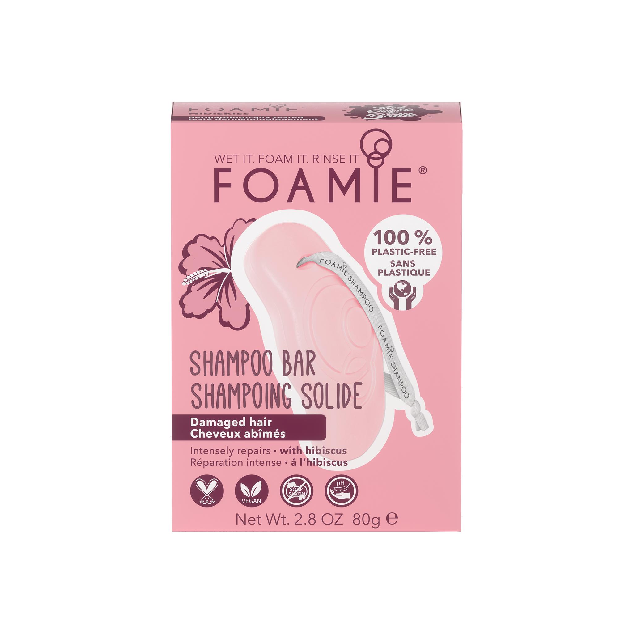 Foamie Shampooing en Barre Hibiskiss (Cheveux Sensibilisés)