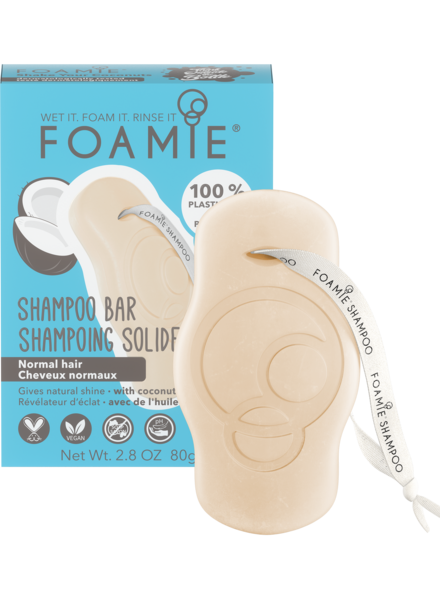Foamie Shampooing en Barre Shake Your Coconuts (Cheveux Normaux)