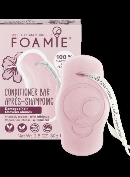 Foamie Conditioner en Barre Hibiskiss (Cheveux Sensibilisés)