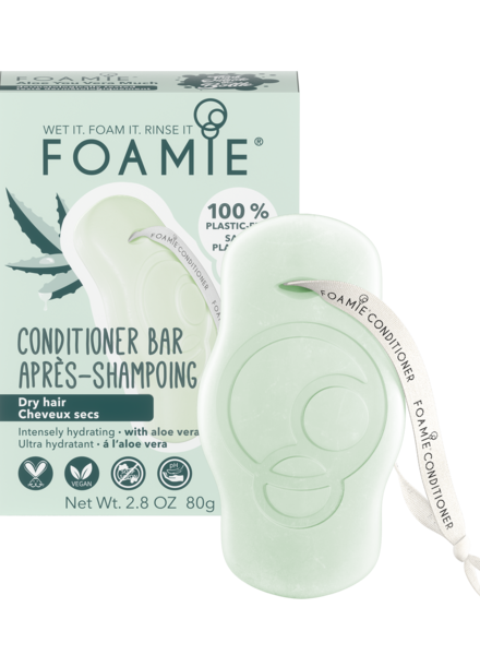 Foamie Conditioner en Barre Aloe Vera (Cheveux Secs)
