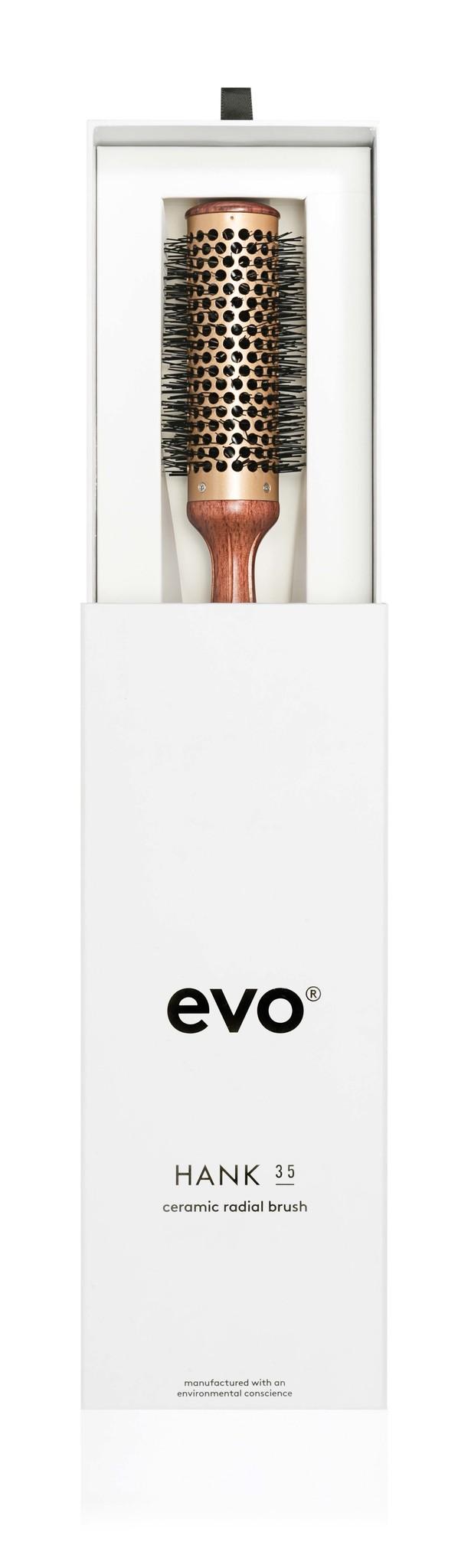 EVO Brosse HANK ronde en céramique 35mm