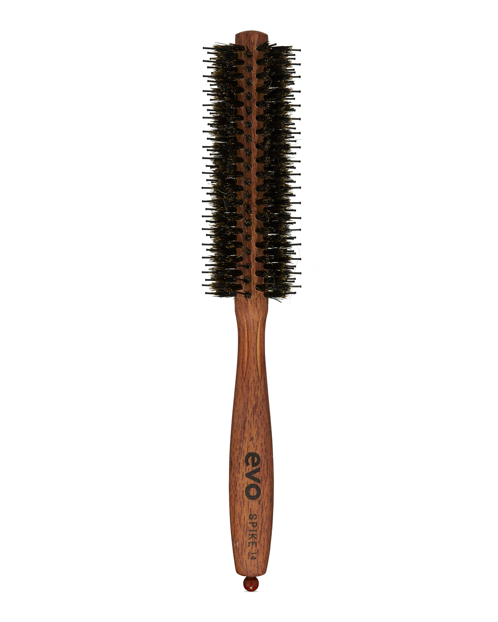 EVO Brosse SPIKE ronde à poils et picots 14mm