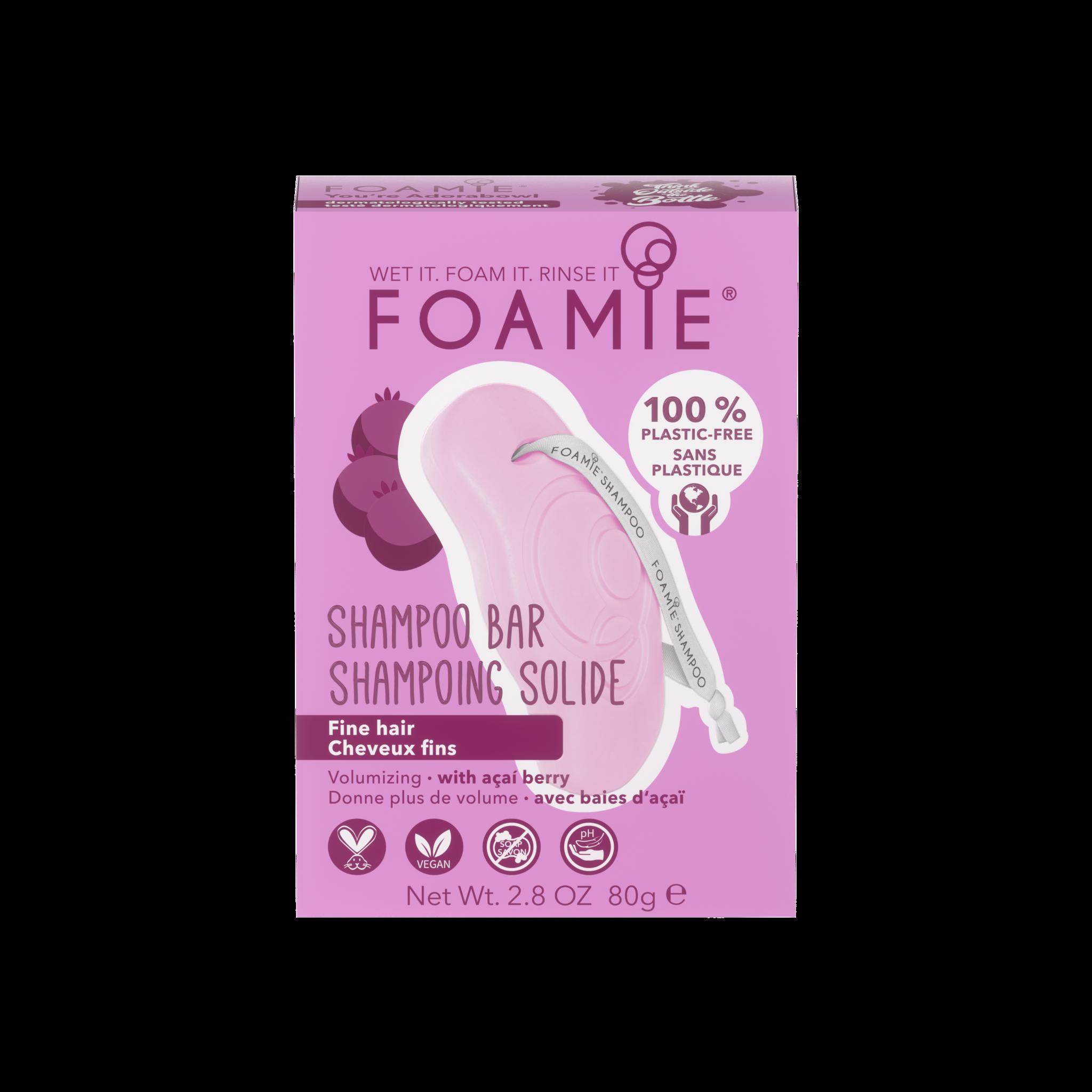 Foamie Shampooing en Barre You're Adorabowl (Cheveux Fins)