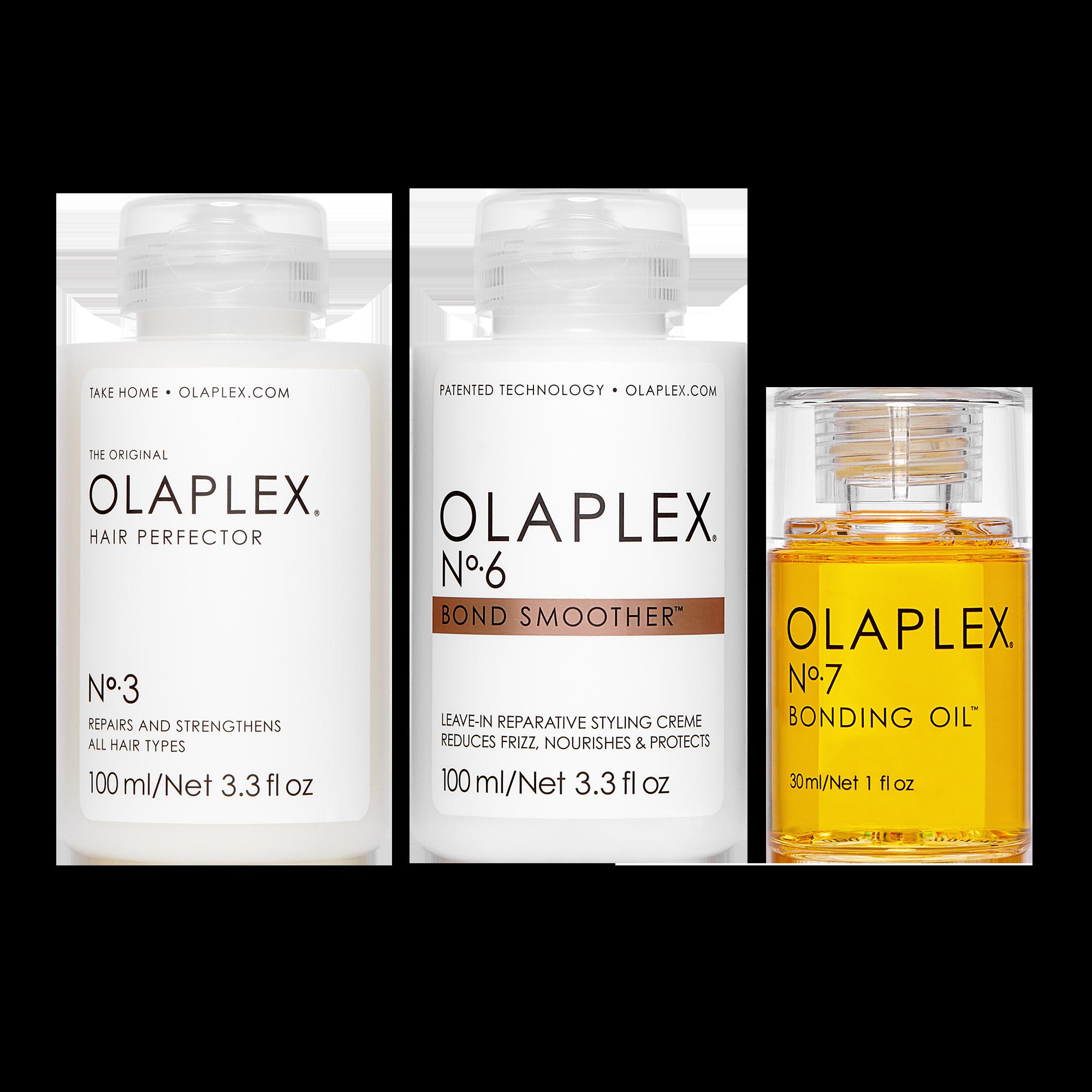 Olaplex Home Care Set N°3 + N°6 + N°7 100 ml