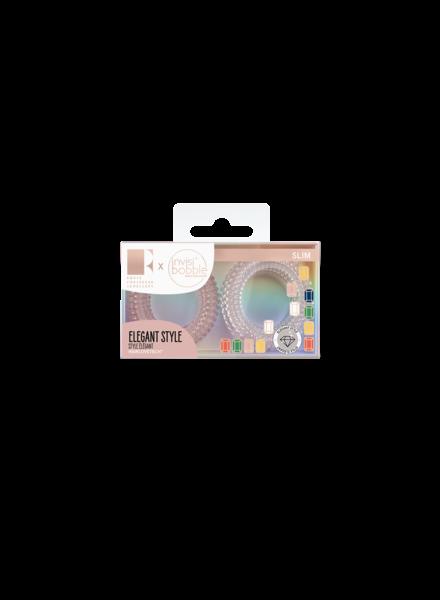 invisibobble® SLIM Rosie Fortescue Pink Glasses