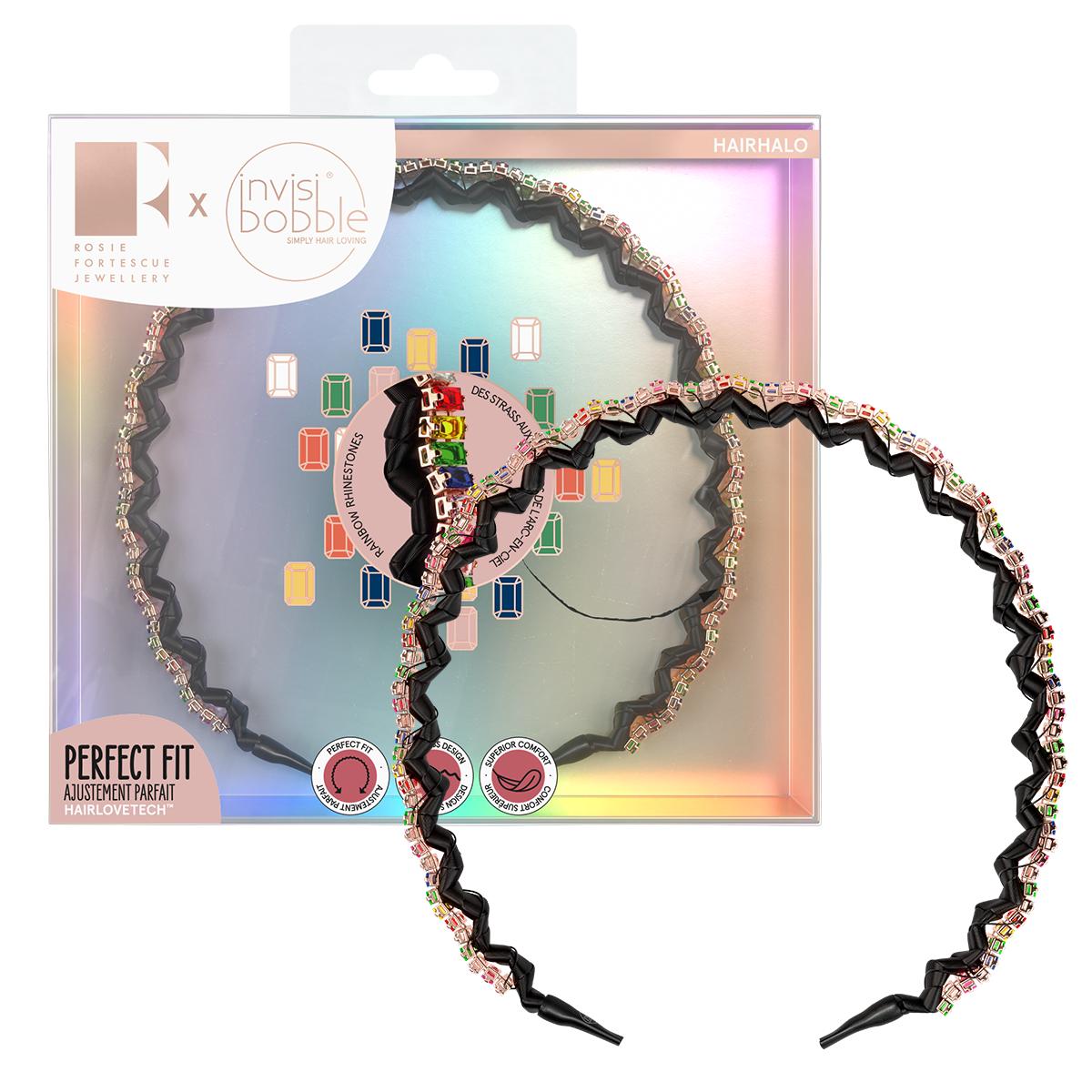 invisibobble® HAIRHALO Rosie Fortescue Trendy Treasure
