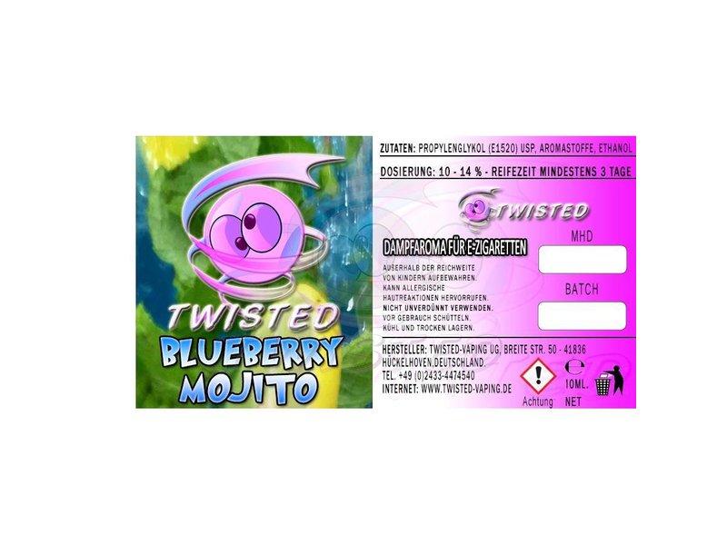 TWISTED Aroma BLUEBERRY MOJITO