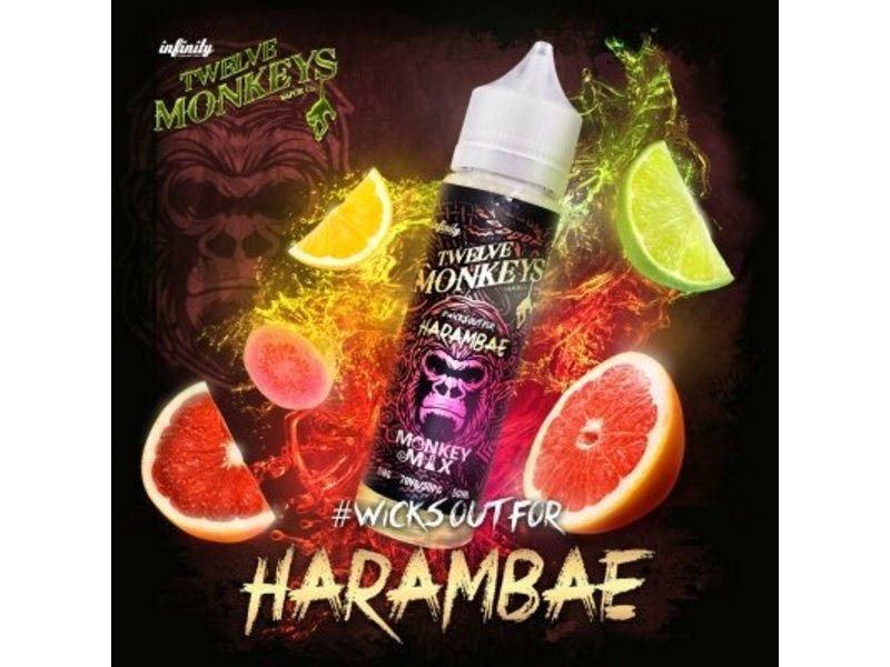 Harambae Overdosed Liquid 50 ml - Twelve Monkeys