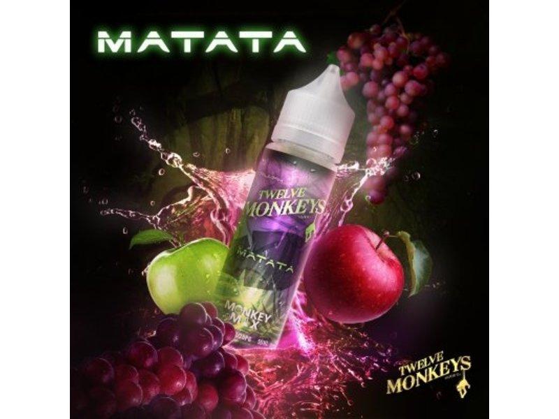 Matata Overdosed Liquid 50ml – Twelve Monkeys