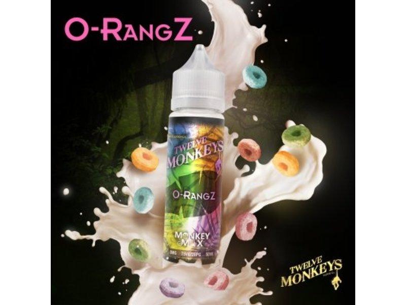 O-RANGZ Overdosed Liquid 50ml - Twelve Monkeys