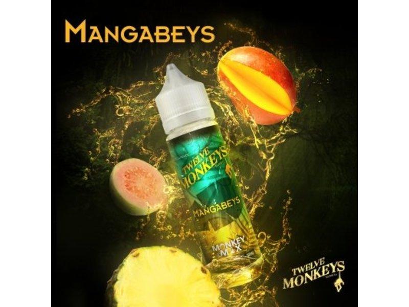 MANGABEYS Overdosed Liquid 50ml - Twelve Monkeys