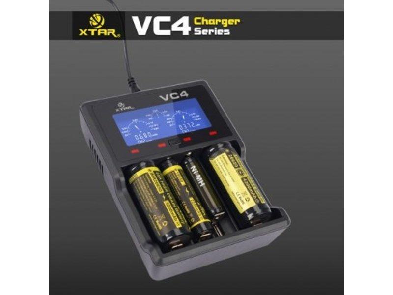 XTAR VC4 Ladegerät für Li-Ion und NIMH