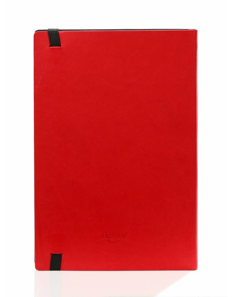 Kalpa BF434-8 11 x 18 Flexies notitieboek rood