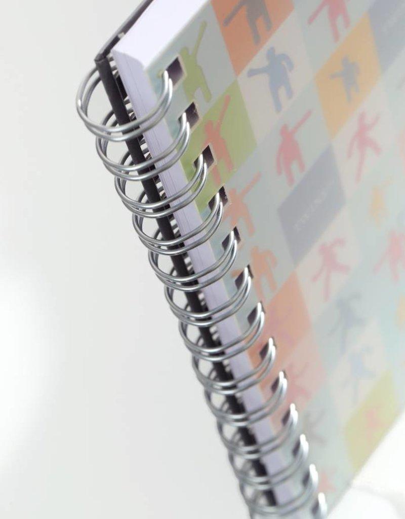 Kalpa 7119 - 2 stuks notitieboekjes Twins Medium